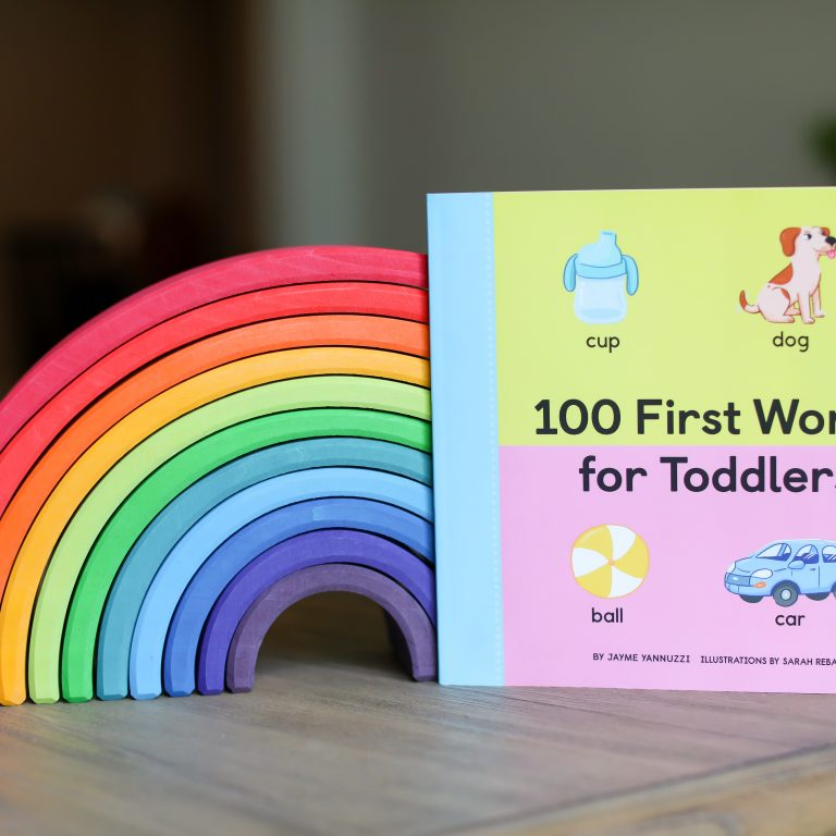 First Words Book For Toddlers