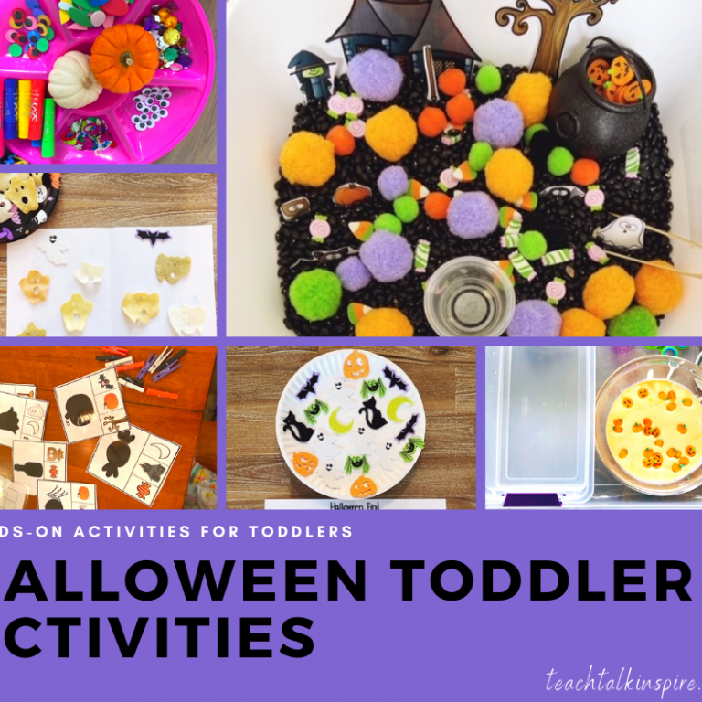 Halloween Activities for Toddler Round Up