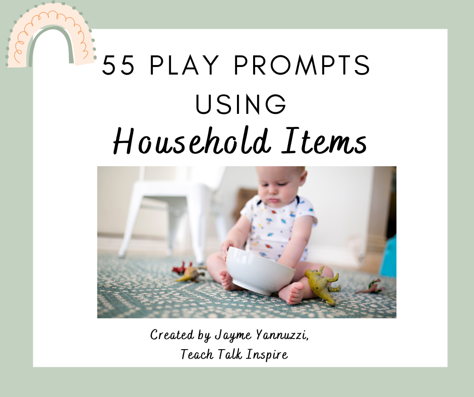 Toddler Play with Household Items