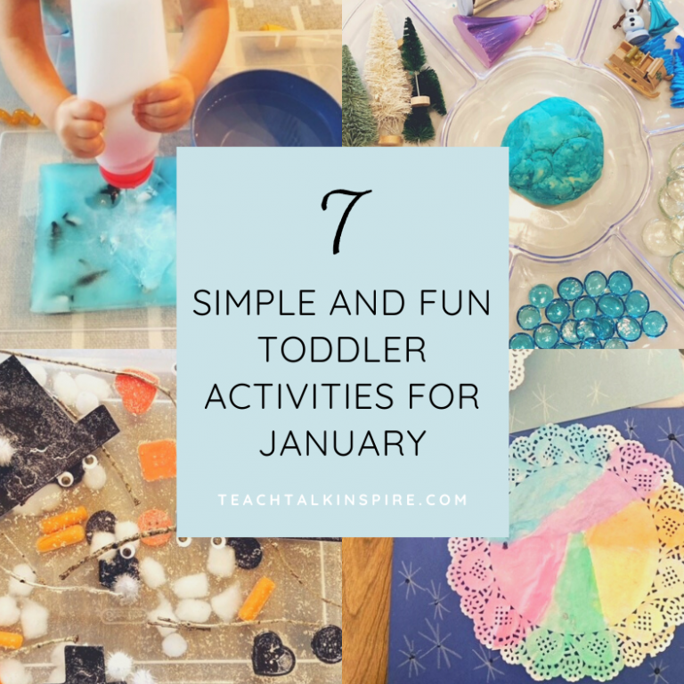 Toddler Activities for January