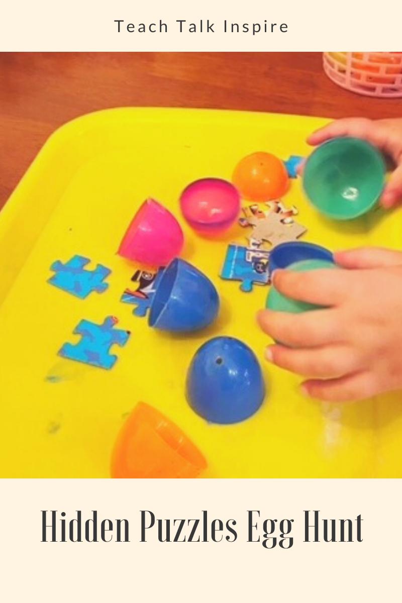 Hidden Puzzle Easter Egg Activitiy