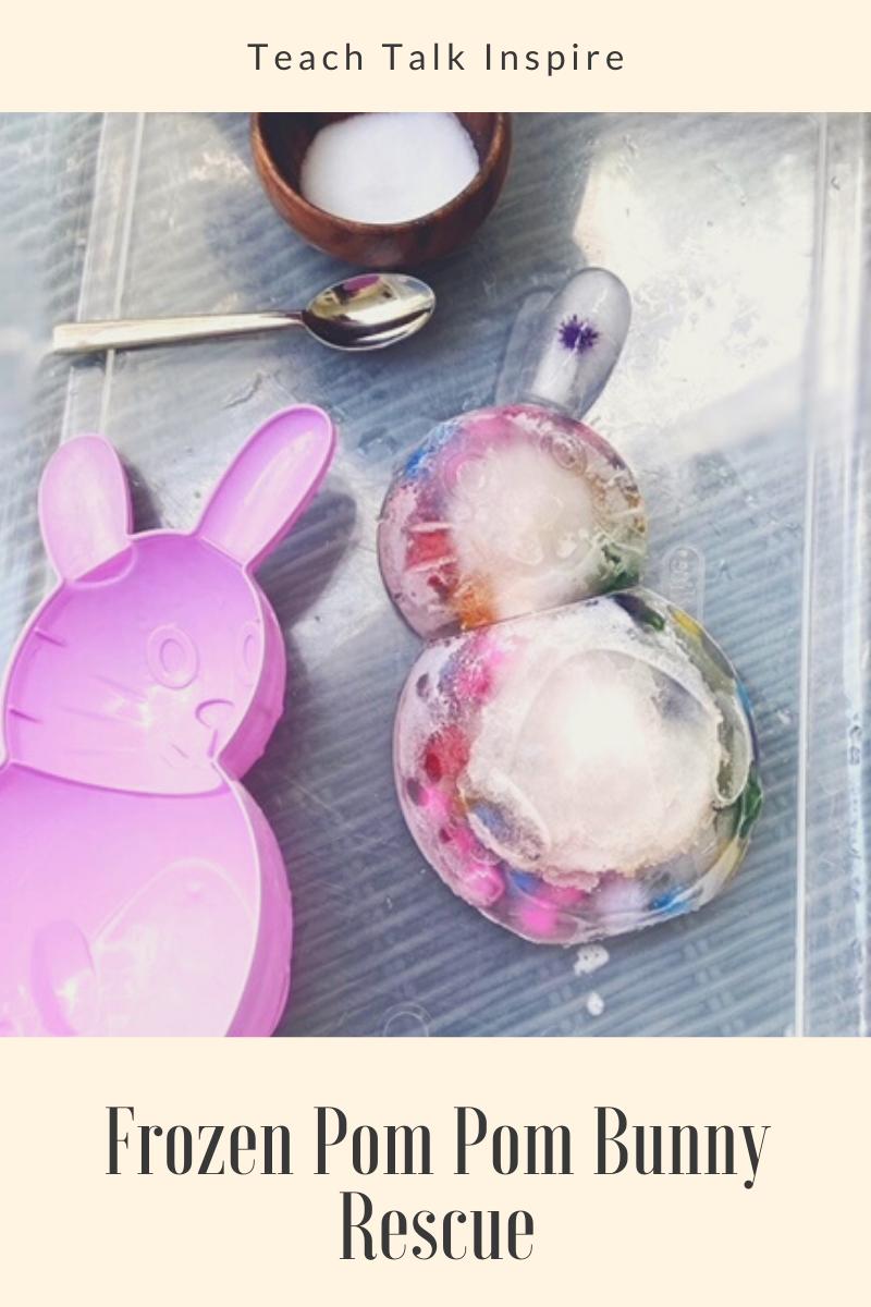 Frozen Pom Pom Bunny Rescue