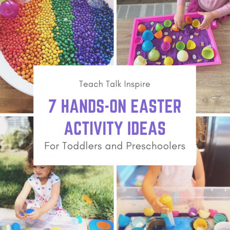 7 Hands-On Easter Activity Ideas for Toddlers